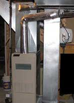 Picture of gas furnace