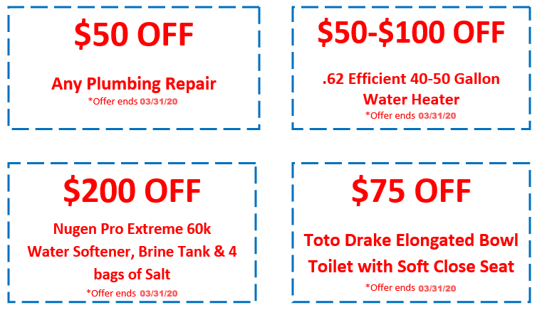 Triple-T Heating and Cooling Plumbing Coupons